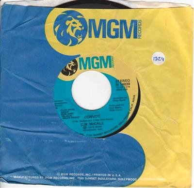 C.W. McCALL - CONVOY - MGM 1324