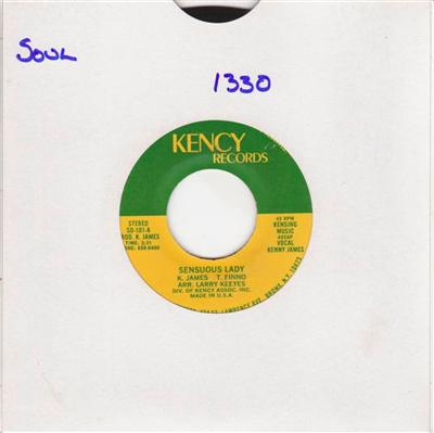 KENNY JAMES - SENSUOUS LADY - KENCY 1330