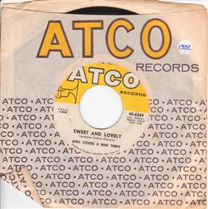 APRIL STEVENS & NINO TEMPO - TRUE LOVE - ATCO 1332