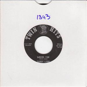 SANDIE LYNN - RAY GARNETT - TWIN HITS 1343