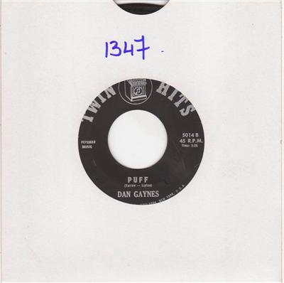 DAN GAYNES - JEAN MADISON & ED GREGORY - TWIN HITS 1347