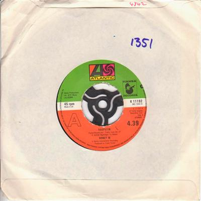 BONEY M - RASPUTIN - ATLANTIC UK 1351