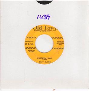 BILLY BLAND - CHICKEN HOP - OLD TOWN 1439