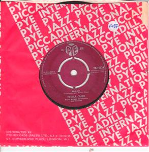 PETULA CLARK - MY HEART - PYE UK 1487