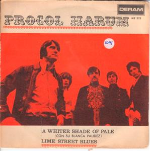 PROCOL HARUM - WHITER SHADE OF PALE - DERAM 1391