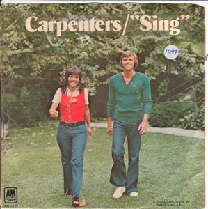 THE CARPENTERS - SING A & M 1497