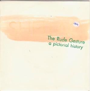SHELLAC - THE RUDE GESTURE - TOUCH & GO { 1504