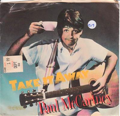 PAUL McCARTNEY - TAKE ME AWAY - COLUMBIA { 519