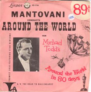 MANTOVANI - AROUND THE WORLD - LONDON { 1522