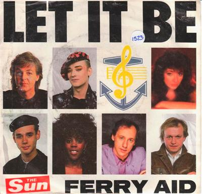 VARIOUS ARTISTS - FERRY AID - LET IT BE - PROMO { 1523