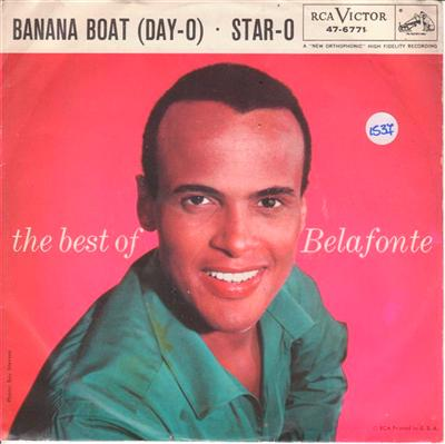 HARRY BELAFONTE - BANANA BOAT - RCA [ 1537