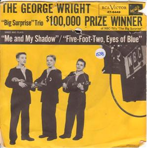 GEORGE WRIGHT - ME & SHADOW - RCA { 1538