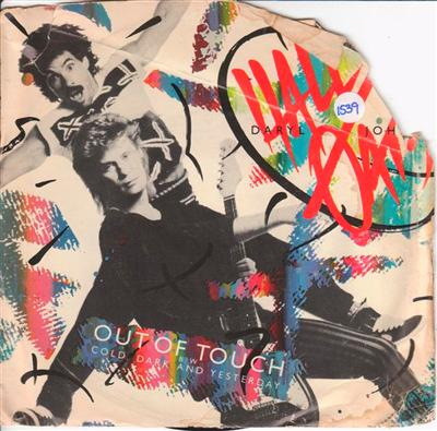 HALL & OATES - OUT OF TOUCH - RCA { 1539