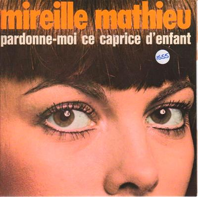 MIREILLE MATHIEU - RARE BARCLAY FRENCH EP - 1555