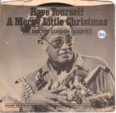 DEXTER GORDON - HAVE MERRY CHRISTMAS - COLUMBIA 1569