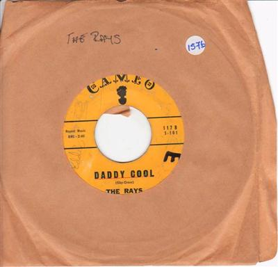 THE RAYS - DADDY COOL - CAMEO 1576