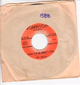 THE SHELLS - BABY OH BABY - JOHNSON 1588