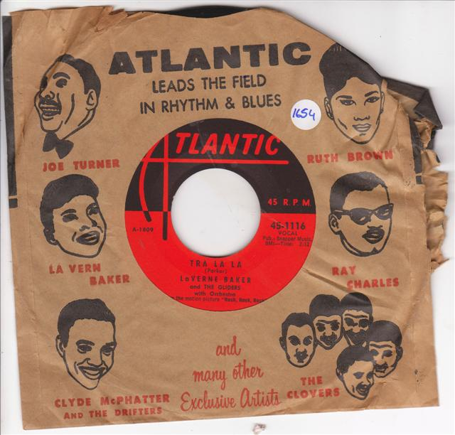 LaVERNE BAKER - JIM DANDY - ATLANTIC 1116 { 1654