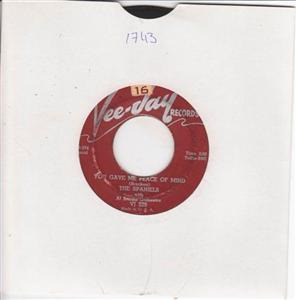 THE SPANIELS - PLEASE DONT TEASE - VEE JAY { 1743