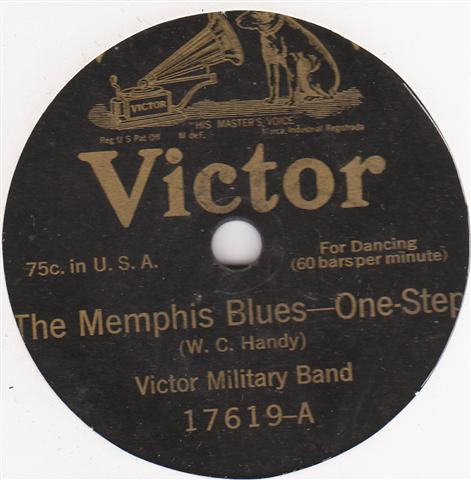 VICTOR MILITARY BAND - RAG A MUFFIN RAG - VICTOR { 316