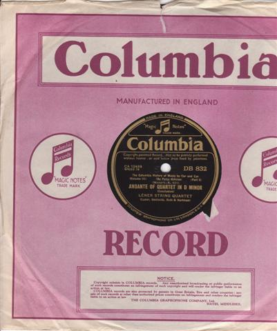 COLUMBIA HISTORY OF MUSIC FOR EYE & EAR { COLLECTION