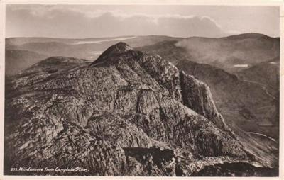 WINDEMERE FROM LANGDALE PIKES - Real Photo