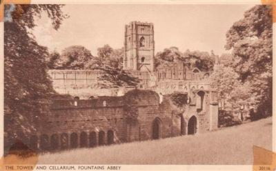 TOWER & CELLARIUM , FOUNTAINS ABBEY