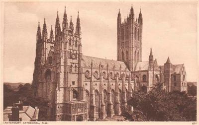 CANTEBURY CATHEDRAL - 1948