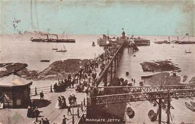 MARGATE JETTY - 1905