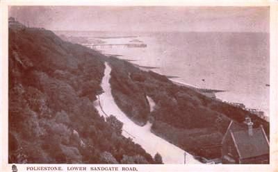 FOLKESTONE , LOWER SANDGATE ROAD - 1905