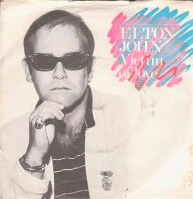 ELTON JOHN - VICTIM OF LOVE - 1979 PS { 99