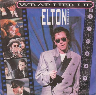 ELTON JOHN - WRAP HE UP - 1985 PS { 101