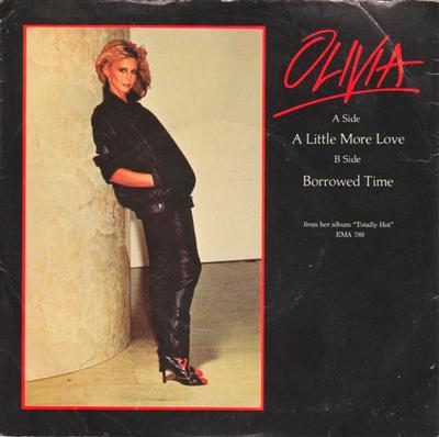 OLIVIA NEWTON - JOHN - LITTLE MORE LOVE - 1979 PS { 105
