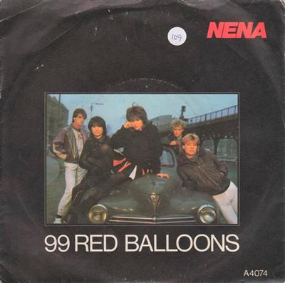 NENE - 99 RED BALLOONS - EPIC PS 1983 { 109