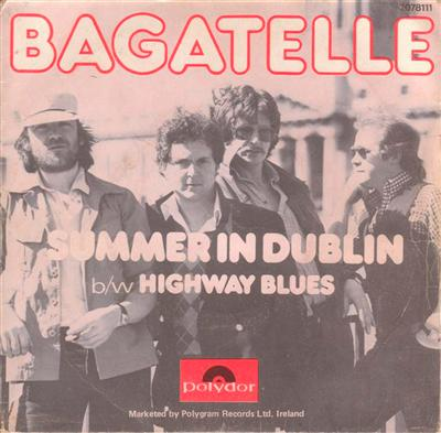 BAGATELLE - SUMMER IN DUBLIN - 1980 PS { 126