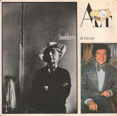 ACT - SNOBBERY & DECAY - 1987 PS { 146