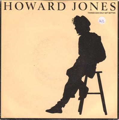 HOWARD JONES - THINGS CAN GET BETTER - 1985 PS { 163