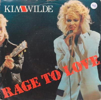 KIM WILDE - RAGE TO LOVE - 1984 PS { 168