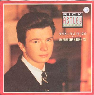 RICK ASTLEY - WHEN I FALL IN LOVE { 176