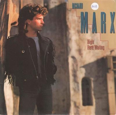RICHARD MARX - RIGHT HERE WAITING { 208