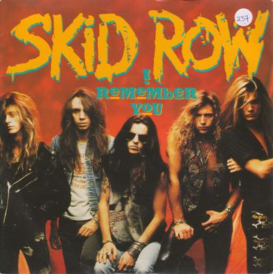 SKID ROW - I REMEMBER YOU { 237