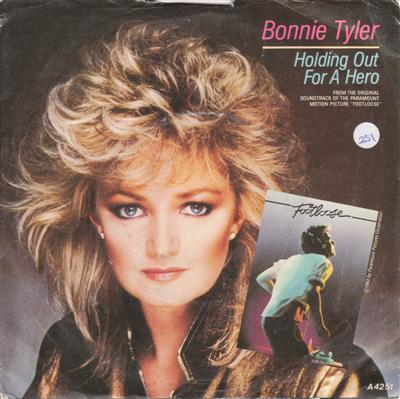 BONNIE TYLER - HOLDING OUT FOR A HERO { 251