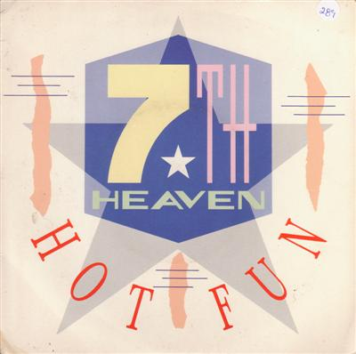 7 th HEAVEN - HOT FUN - MERCURY 1985