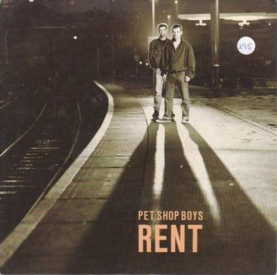 PET SHOP BOYS - RENT - PARLOPHONE 1987