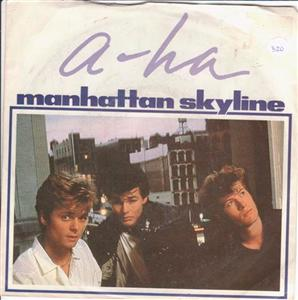 A - HA - MANHATTAN SKYLINE - 1987