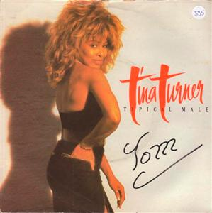 TINA TURNER - TYPICAL MALE - CAPITOL 1986