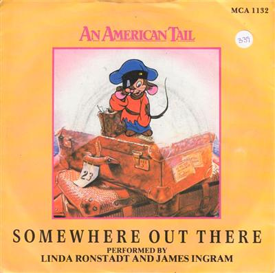 LINDA RONSTADT & JAMES INGRAM - SOMEWHERE OUT THERE -
