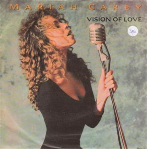 MARIAH CAREY - VISION OF LOVE - CBS 1990