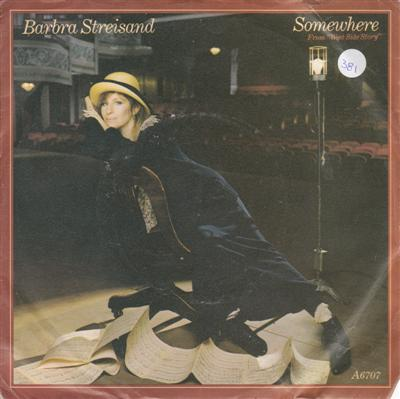BARBARA STREISAND - SOMEWHERE - CBS 1985