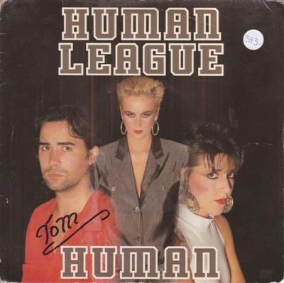 HUMAN LEAGUE - HUMAN - VIRGIN 1986
